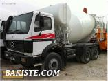 SATILIK-1992 MODEL -8 m3 -MERCEDES 26.28K - FULL REVİZYONLU